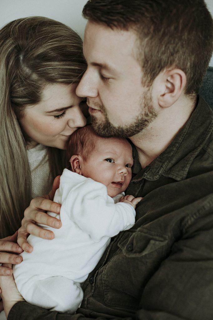 Familie en baby